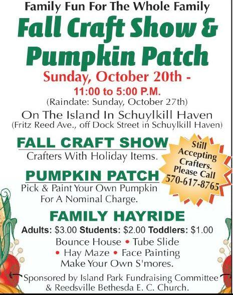 fall craft show pumpkin patch